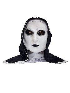 Máscara Freira Borracha com Capuz Halloween