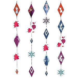 Cortininha Frozen Decorativa