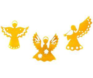 Varal de Anjo de Papel Metalizado Dourado