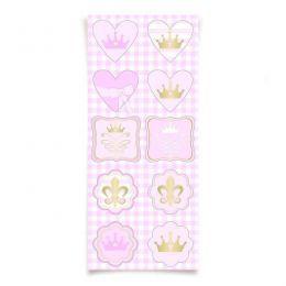 Adesivo Decorativo Reinado das Princesas