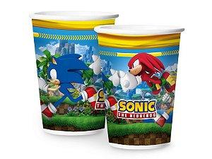Copo de Papel Sonic 180ml