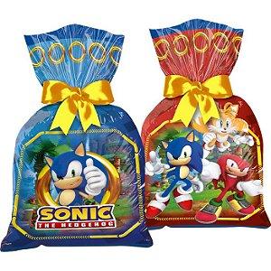 Sacola Plástica Sonic 12un