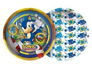 Prato Papel Sonic 18cm