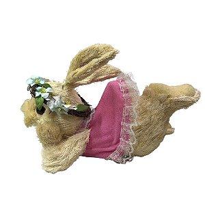 Coelha Menina Deitada