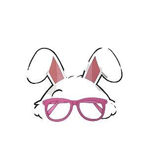 Óculos Mascara Coelho Rosa