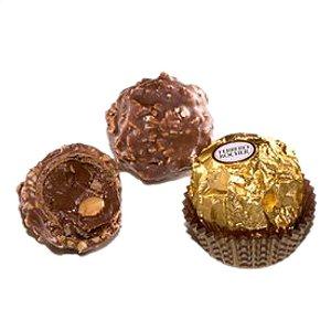 Ferrero Rocher com 3 Unidades