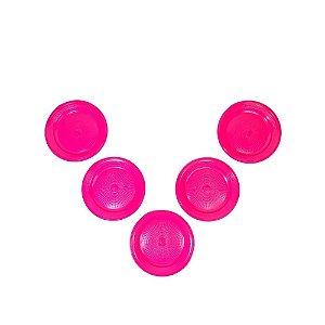Prato 15 CM Biodegradável Pink