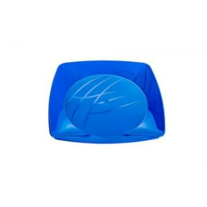 Prato Quadrado Médio - Azul