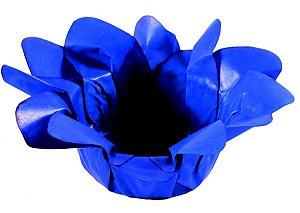 Forminha de Lirio Azul Royal