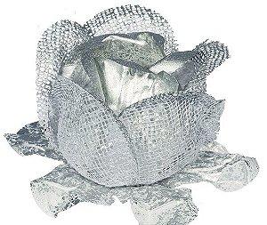 Forminha Tela/Papel Rainha Prata