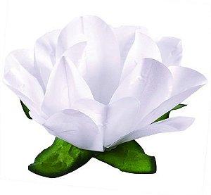 Forminha Flor Maracujá Branco
