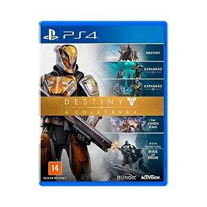 Jogo Destiny a Coletanea - PS4 (USADO)