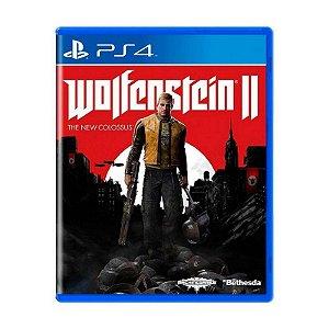 Jogo Wolfenstein II: The New Colossus - PS4 (USADO)