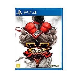 Jogo Street Fighter V - PS4 (USADO)