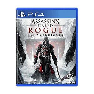 Jogo Assassin's Creed Rogue Remasterizado - PS4 (NOVO)
