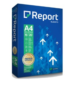Papel sulfite Report A4 500 folhas
