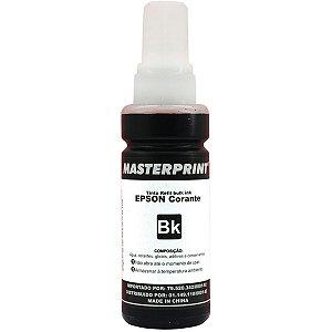 Refil de tinta Epson 100ml Masterprint preto