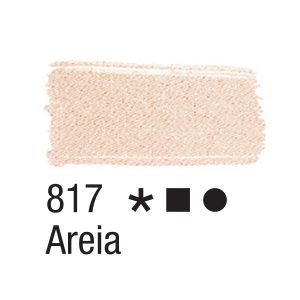 Tinta para tecido 37ml Acrilex 817 Areia