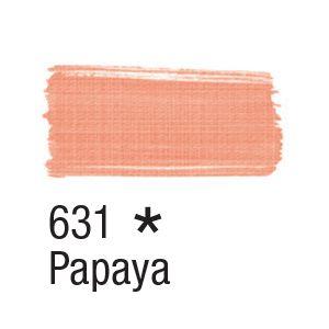Tinta para tecido 37ml Acrilex 631 Papaya