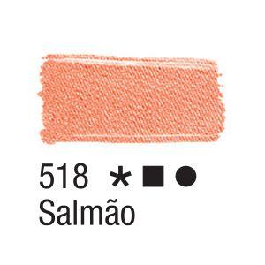 Tinta para tecido 37ml Acrilex 518 Salmão