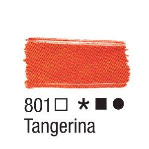 Tinta para tecido 37ml Acrilex 801 Tangerina