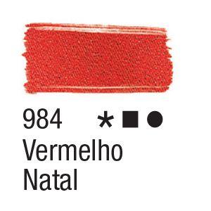 Tinta para tecido 37ml Acrilex 984 Vermelho Natal