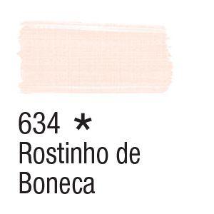 Tinta para tecido 37ml Acrilex 634 Rostinho de Boneca