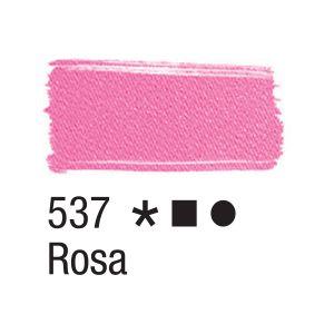 Tinta para tecido 37ml Acrilex 537 Rosa