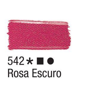 Tinta para tecido 37ml Acrilex 542 Rosa Escuro