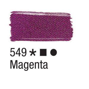 Tinta para tecido 37ml Acrilex 549 Magenta
