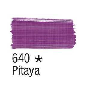 Tinta para tecido 37ml Acrilex 640 Pitaya