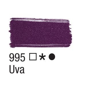 Tinta para tecido 37ml Acrilex 995 Uva