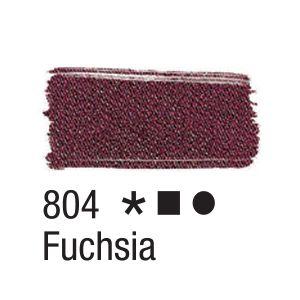 Tinta para tecido 37ml Acrilex 804 Fuchsia