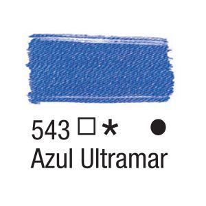 Tinta para tecido 37ml Acrilex 543 Azul Ultramar