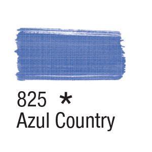 Tinta para tecido 37ml Acrilex 825 Azul Country
