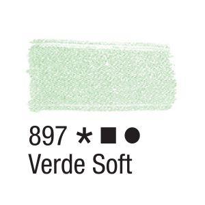 Tinta para tecido 37ml Acrilex 897 Verde Soft