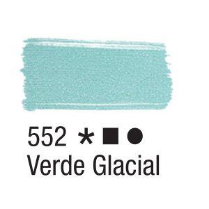 Tinta para tecido 37ml Acrilex 552 Verde Glacial