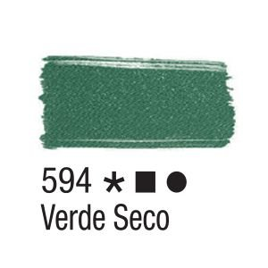 Tinta para tecido 37ml Acrilex 594 Verde Seco