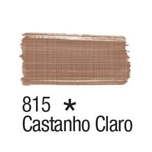 Tinta para tecido 37ml Acrilex 815 Castanho Claro