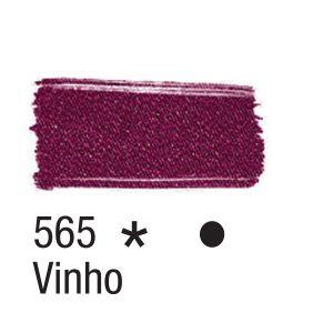 Tinta para tecido 37ml Acrilex 565 Vinho