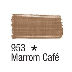Tinta para tecido 37ml Acrilex 953 Marrom Café