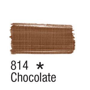 Tinta para tecido 37ml Acrilex 814 Chocolate