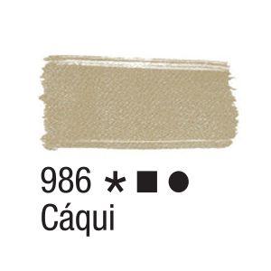 Tinta para tecido 37ml Acrilex 986 Caqui
