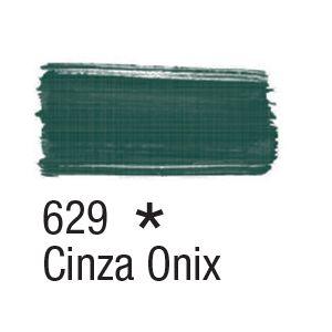 Tinta para tecido 37ml Acrilex 629 Cinza Onix