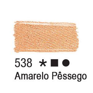 Tinta para tecido 37ml Acrilex 538 Amarelo Pele