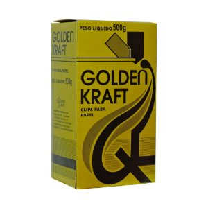 Clips para papel nº 8/0 Golden Kraft 170 unidades