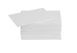 Cartão de visita branco 180 g/m² 54mm x 95mm Grafiara 100 unidades