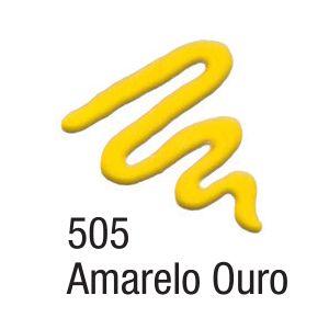 Tinta Acripuff 35ml Acrilex 505 Amarelo Ouro