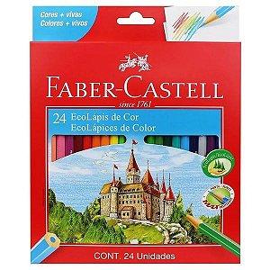 Lapis de cor Faber Castell 24 cores