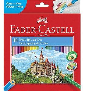 Lapis de cor Faber Castell 48 cores